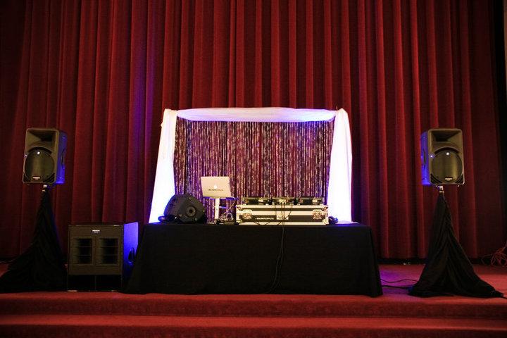 Stage set up at mobile gig x | DJ DETECT